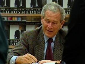 Bush Lying in Memoir, Says Ex-German Leader