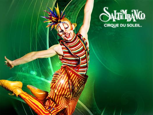 Saltimbanco, le cirque du soleil