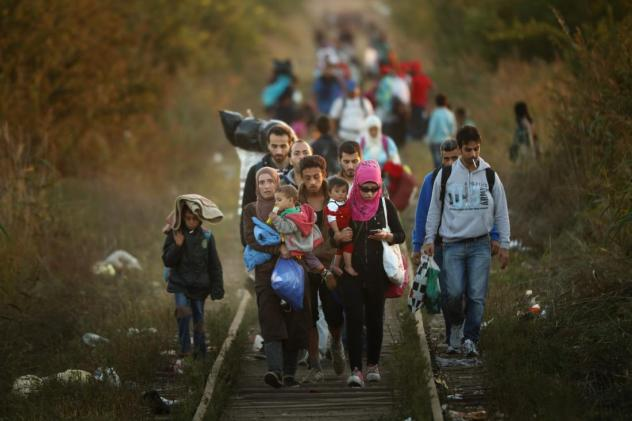 BESTPIX Migrants Make Their Way Towards Hungary